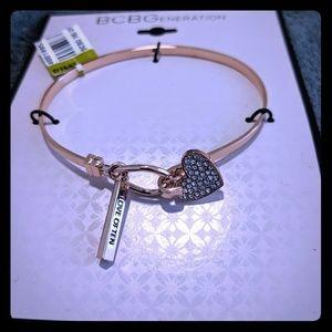 Bc generation hear charm bracelet